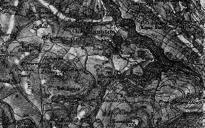 Old map of Leighon in 1898