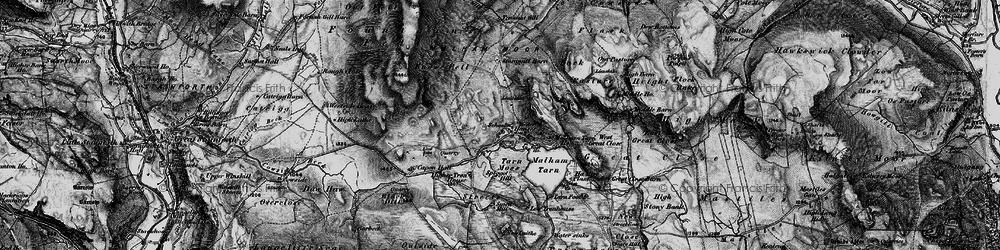 Old map of Westside Ho in 1898