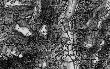 Old map of Wool Knott in 1897