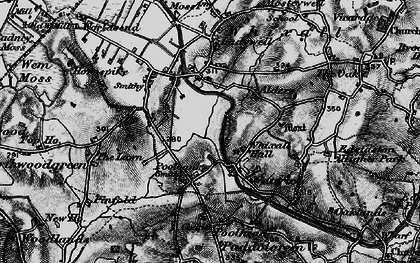 Old map of Lawn, The in 1897
