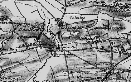 Old map of Aikhead in 1897