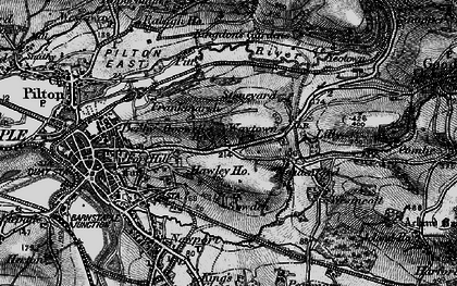 Old map of Lilly in 1898