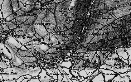 Old map of Whin Garth in 1897