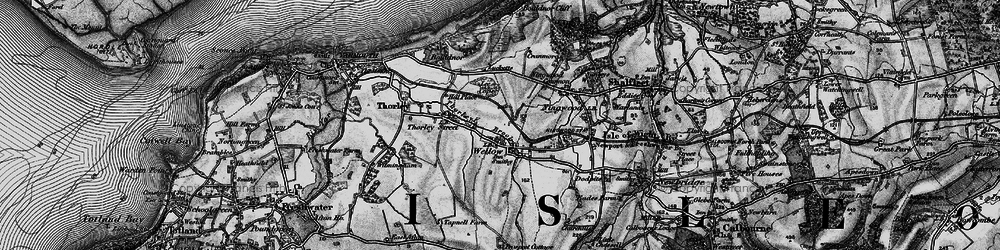 Old map of Lee Copse in 1895