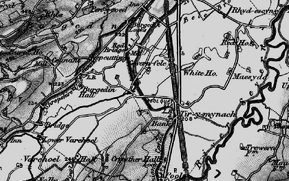 Old map of Bank in 1897