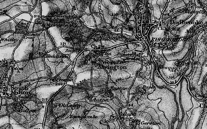 Old map of Youngcombe in 1897