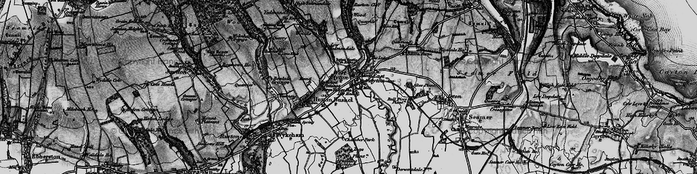 Old map of West Ayton in 1898