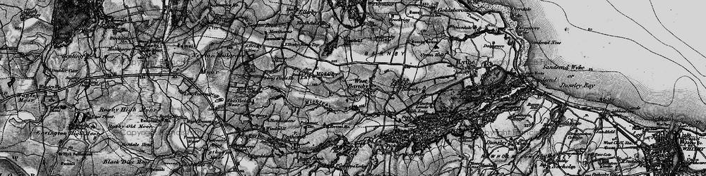 Old map of Alder Park in 1898