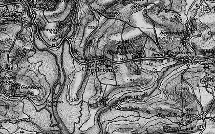 Old map of West Charleton in 1897