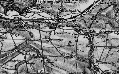 Old map of West Curthwaite in 1897