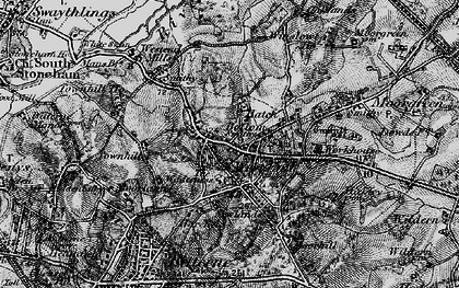 Old map of West End in 1895