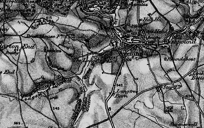 Old map of Avening Park in 1897