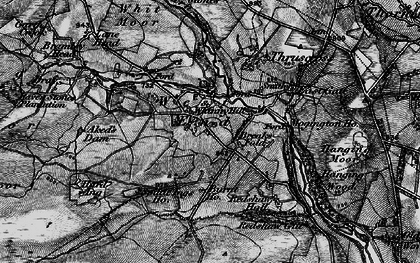 Old map of Windy Hill Ho in 1898