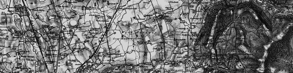 Old map of Winton Beck in 1898