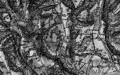 Old map of Balcombe Place in 1895