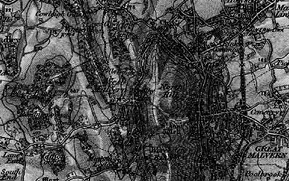 Old map of Worcestershire Beacon in 1898