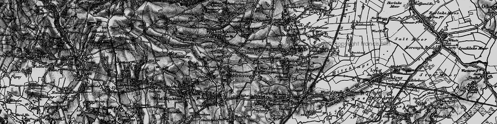 Old map of West Newton in 1898