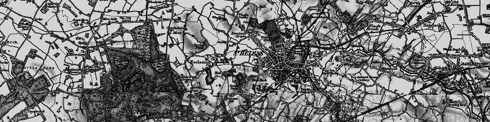 Old map of West Park in 1896
