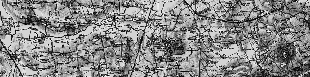 Old map of West Rounton Grange in 1898