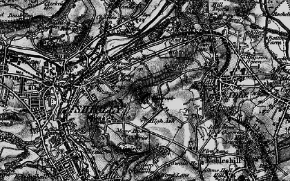Old map of West Royd in 1898