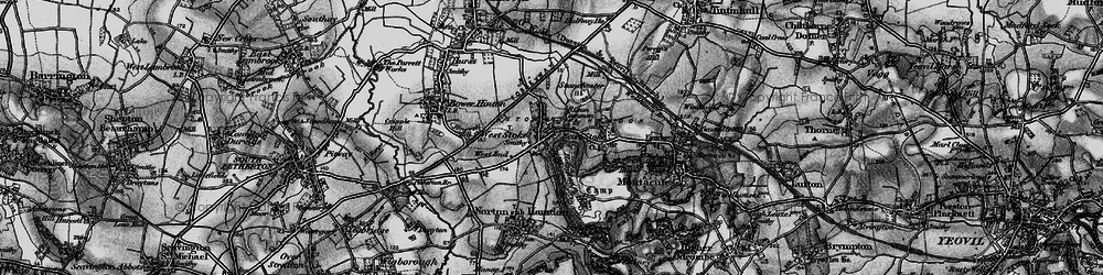 Old map of West Stoke in 1898