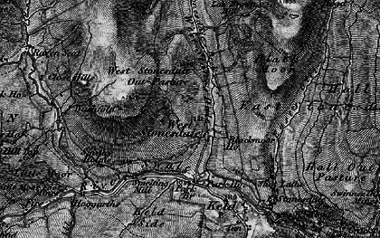 Old map of West Stones Dale in 1897