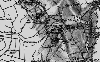 Old map of West Stoughton in 1898