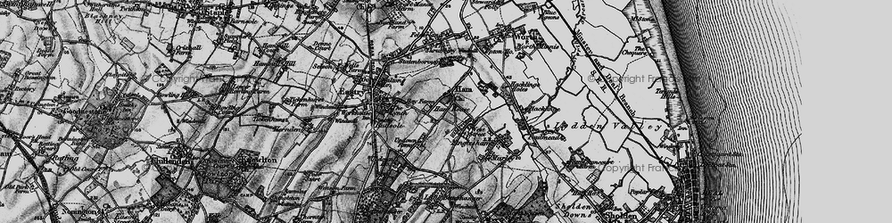 Old map of West Street in 1895