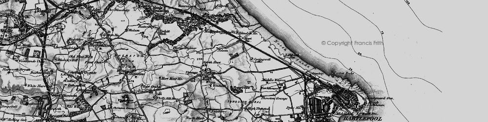 Old map of West View in 1898