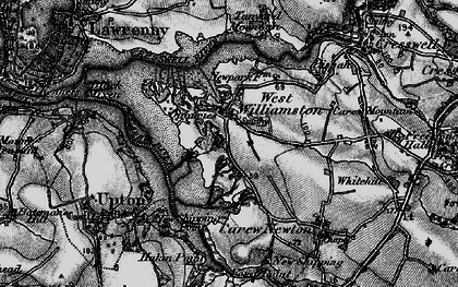 Old map of West Williamston in 1898