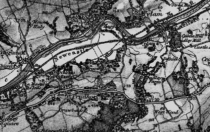 Old map of West Wylam in 1898