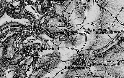 Old map of West Yatton in 1898