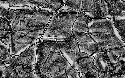 Old map of West Youlstone in 1896
