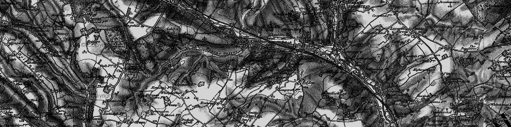 Old map of Westbrook Hay in 1896