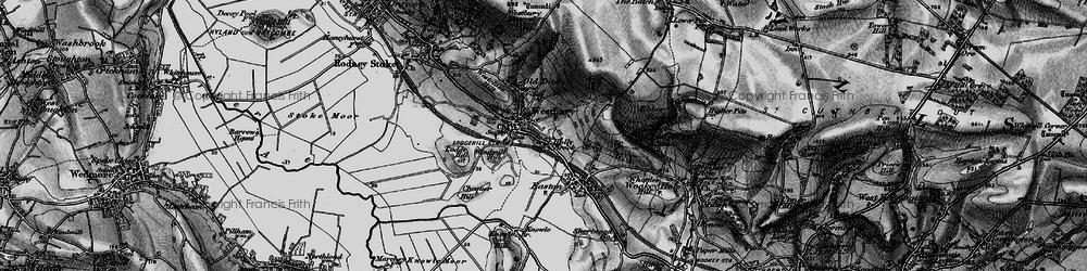 Old map of Westbury-sub-Mendip in 1898