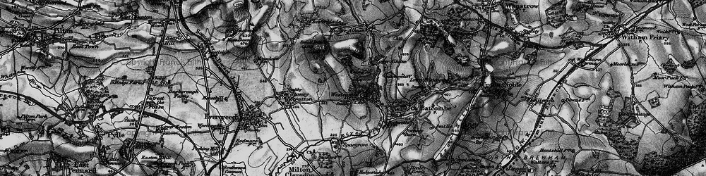 Old map of Westcombe in 1898