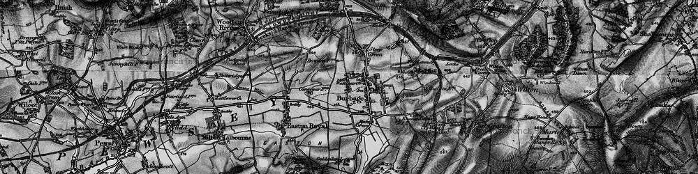 Old map of Westcourt in 1898
