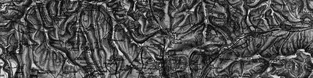 Old map of Westdene in 1895