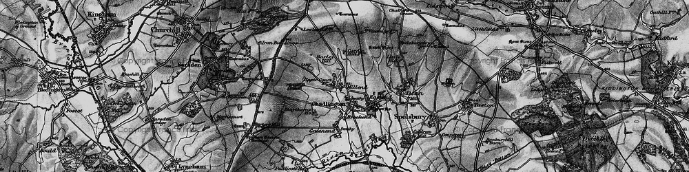 Old map of Westend in 1896