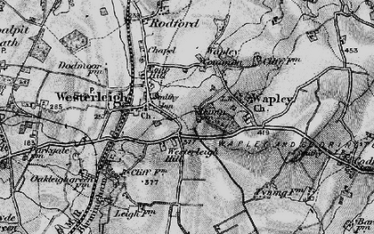 Old map of Westerleigh Hill in 1898