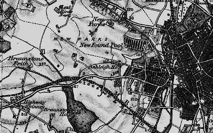 Old map of Western Park in 1899