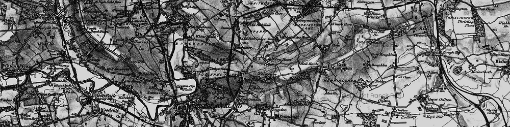 Old map of Westerton in 1897