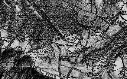 Old map of Westfield Sole in 1895