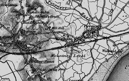Old map of Westham in 1895