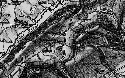 Old map of Westhope in 1899
