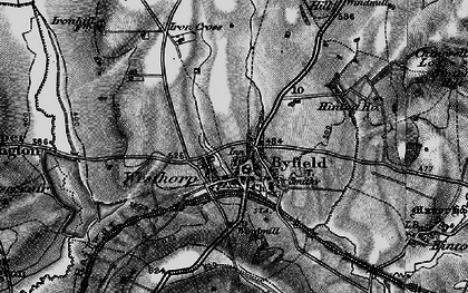 Old map of Westhorp in 1896