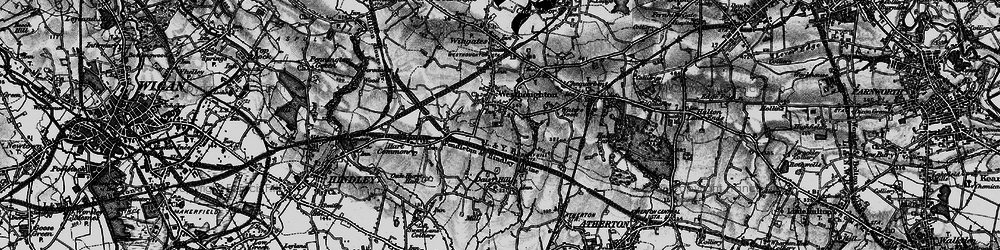 Old map of Westhoughton in 1896