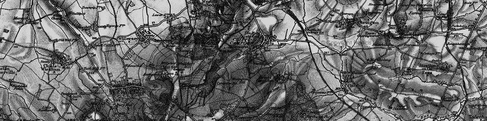 Old map of Westington in 1898