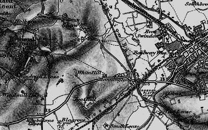 Old map of Westlea in 1898