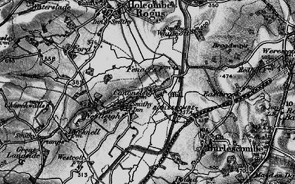 Old map of Westleigh in 1898